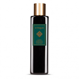 UTIQUE LUXURY SHOWER GEL SANDALWOOD & PATCHOULI
